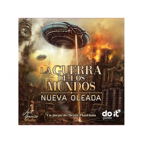 Table game War of the Worlds - The New Wave from Do It Games
