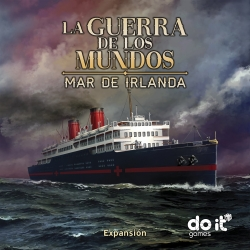 Sea of Ireland expansion for table game War of the Worlds from Do It Games