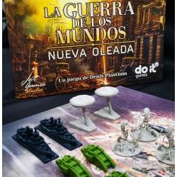 Miniaturas para juego de mesa La Guerra de los Mundos de Do It Games