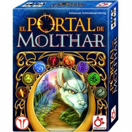 Juego de mesa de estrategia El Portal De Molthar de Mercurio Distribuciones