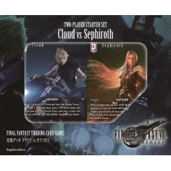 JUEGO DE CARTAS FINAL FANTASY TCG MAZO VERSUS CLOUD VS SEPHIROTH DE SQUARE ENIX