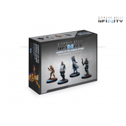 Agents of the Human Sphere. RPG Characters Set Infinity de Corvus Belli reference 280744-0810