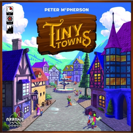 Tiny Towns resource management board game from Arrakis Games