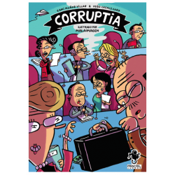 Board game of cheating and bribes Corruptia from Fractal Games