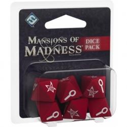Las Mansiones De La Locura 2ª Edicion. Set De Dados De Las Mansiones De La Locura