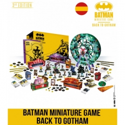 Batman Miniature Games board game - Back to Gotham by Knight Models