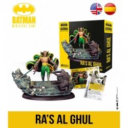 Expansión juego de mesa Batman Miniature Games Ra's Al Ghul de Knight Models