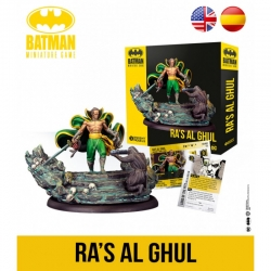 Ra's Al Ghul expansion Batman Miniature Games board game by Knight Models