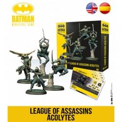 Expansión juego de mesa Batman Miniature Games League of Assassins Acolytes de Knight Models