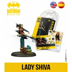 Lady Shiva expansion Batman Miniature Games board game by Knight Models