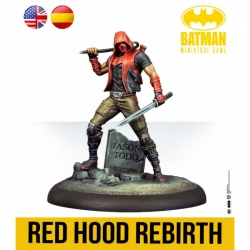 Red Hood Rebirth expansion Batman Miniature Games board game by Knight Models