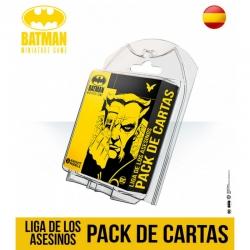 Pack de Cartas Liga de los Asesinos para juego de mesa Batman Miniature Games de Knight Models