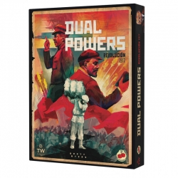 Dual Powers 1917 Revolution board game from 2Tomatoes Games