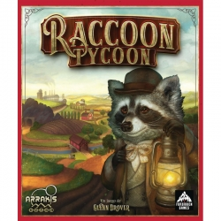 Raccoon Tycoon board game from Arrakis Games