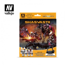 Model Color Set: Infinity Shasvastii Exclusive Miniature Infinity de Corvus Belli referencia 70241