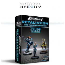 Infinity CodeOne Dire Foes Mission Pack Alpha: Retaliation de Corvus Belli