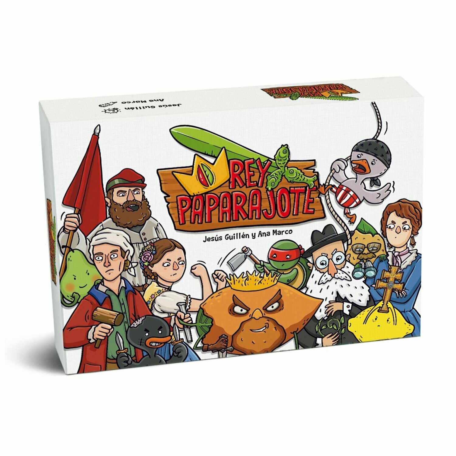 Ana Marco buy paparajote king card game from rocket lemon games