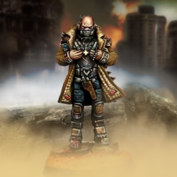 Mariscal (pistola y armadura metálica)