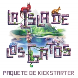 Kickstarter Package of board game The Island of Cats from Maldito Games