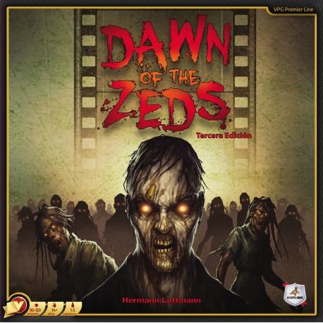 Juego de mesa cooperativo Dawn of the Zeds de Maldito Games