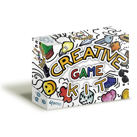 Blank components to prepare your own game ... all customizable !!! That's Creative Game Kit ... create your own game