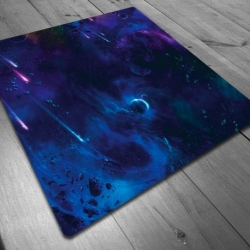 Tapete de neopreno cuadrado 3'x3' (90x90 cm) Cuadrado Planetas Maldito Games
