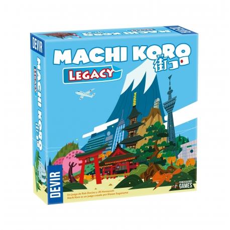 Machi Koro vuelve con una nueva aventura llena de sorpresas: Machi Koro Legacy.
