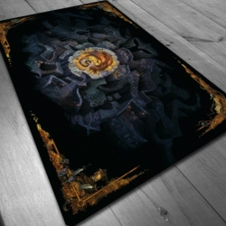 Dragon Neoprene mat for board games 140x80 cm and 150x90cm by Maldito Games