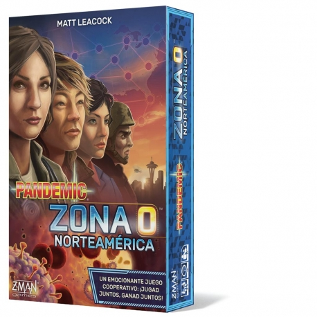 Pandemic Zone 0 North America board game from Z-Man Games