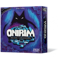 Onirim is a fun game that tests players' cunning and good sense against the sinister labyrinth