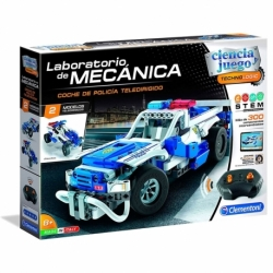 Mechanical Laboratory RC Police Car
