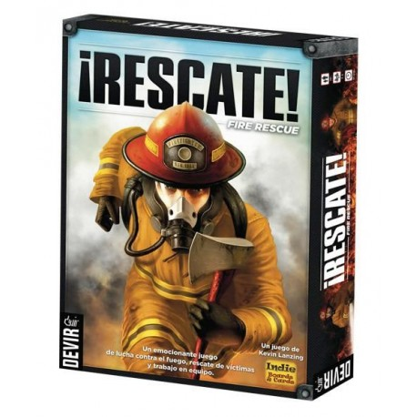 Rescue! cooperative board game where you will have to save lives from Devir