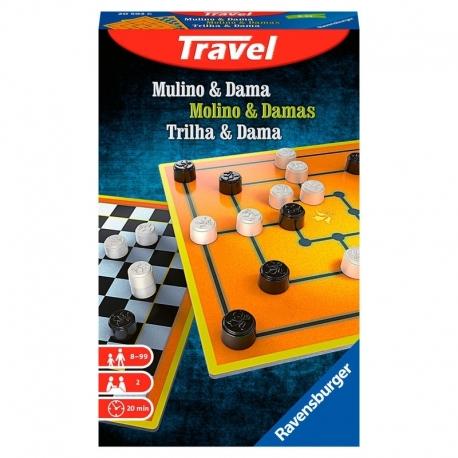 Juego Mulino and Damas viaje