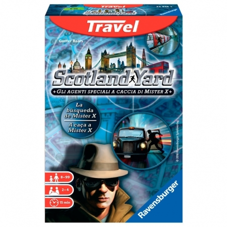 Game Scotland Yard trip