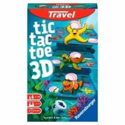 Tic Tac Toe 3D Travel Game