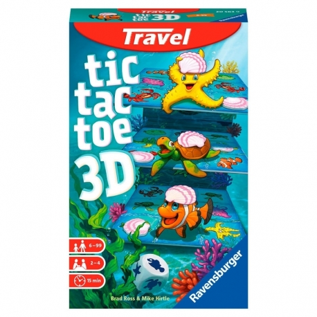 Tic Tac Toe 3D Travel Game