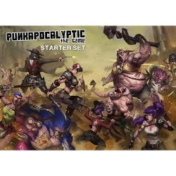 Caja de Inicio del juego de miniaturas Punkapocalyptic
