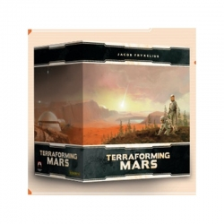 Deluxe Component Box + Promos for board game Terraforming Mars from Maldito Games