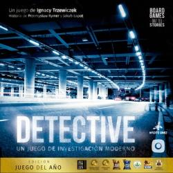 Juego de mesa intrigante Detective Edición Juego de Año de Maldito Games