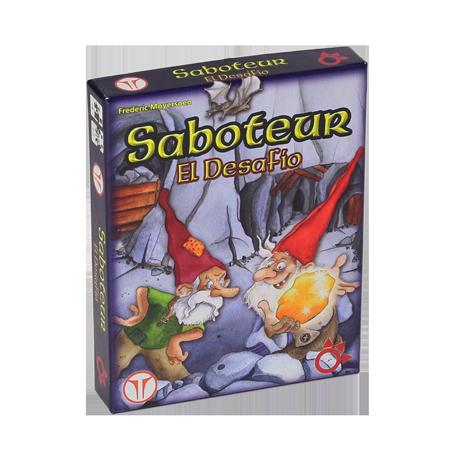 Saboteur - El Desafío (Juego Para 1/2 Jugadores)