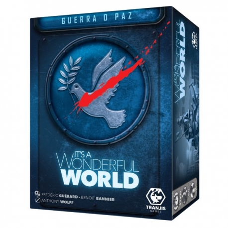 Expansión Guerra o Paz para juego de mesa It's a Wonderful World de Tranjis Games