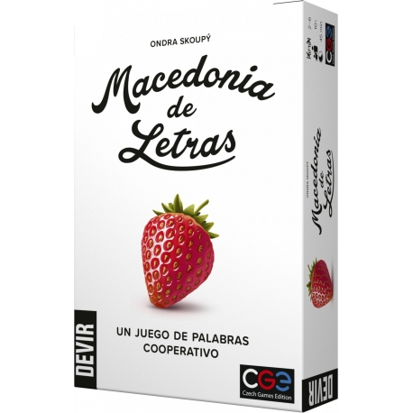 Macedonia of Letters is a fun cooperative title that is enjoyed with groups of players of up to 6 people