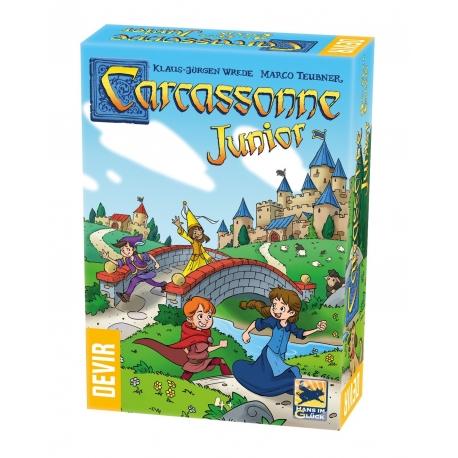 Board game Carcassonne Junior Edition 2020 Trilingual by Devir