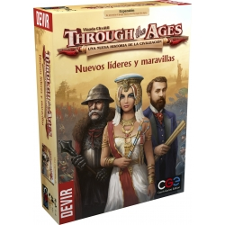 Expansion New Leaders and Wonders Through the Ages by Devir