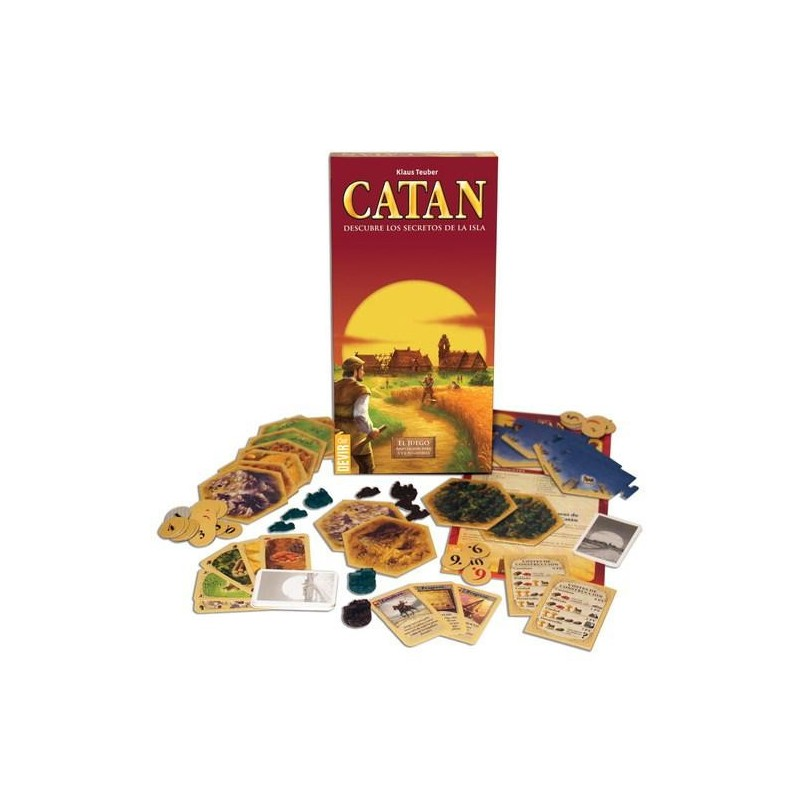 how to play settlers of catan with 6 players