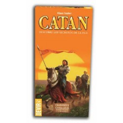 Expansion to play five to six players to the basic game Catan Cities and Knights