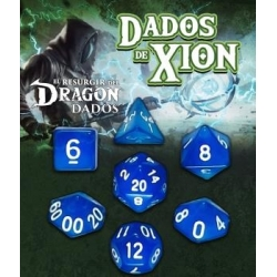 Dados de Xion:Azul Mármeron