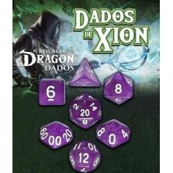 Dados de Xion:Púrpura Extraña Oscuridad