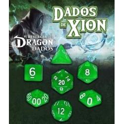 Dados de Xion:Verde Zefiria