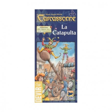 The Catapult Carcassonne Expansion Box Content